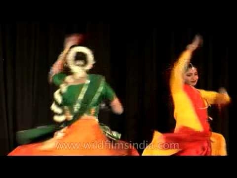 Professionally trained dancers performing Indian Classical — Kathak