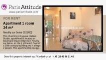 Studio Apartment for rent - Neuilly sur Seine, Neuilly sur Seine - Ref. 5867