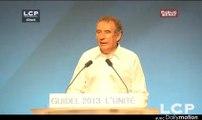 Évènements : Discours de François Bayrou, en clôture de l'Université de rentrée du MoDem