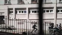 Jean Dujardin en tournage dans ( La French ) à MARSEILLE