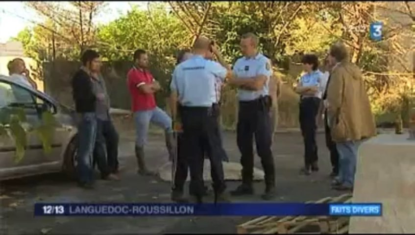 Reportage France 3 - 12/13 Languedoc Roussillon