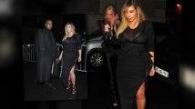 Kim Kardashian deslumbra en traje translúcido en la Semana de Moda en Paris
