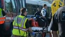 Chicago train crash: 33 people injured after trains collide