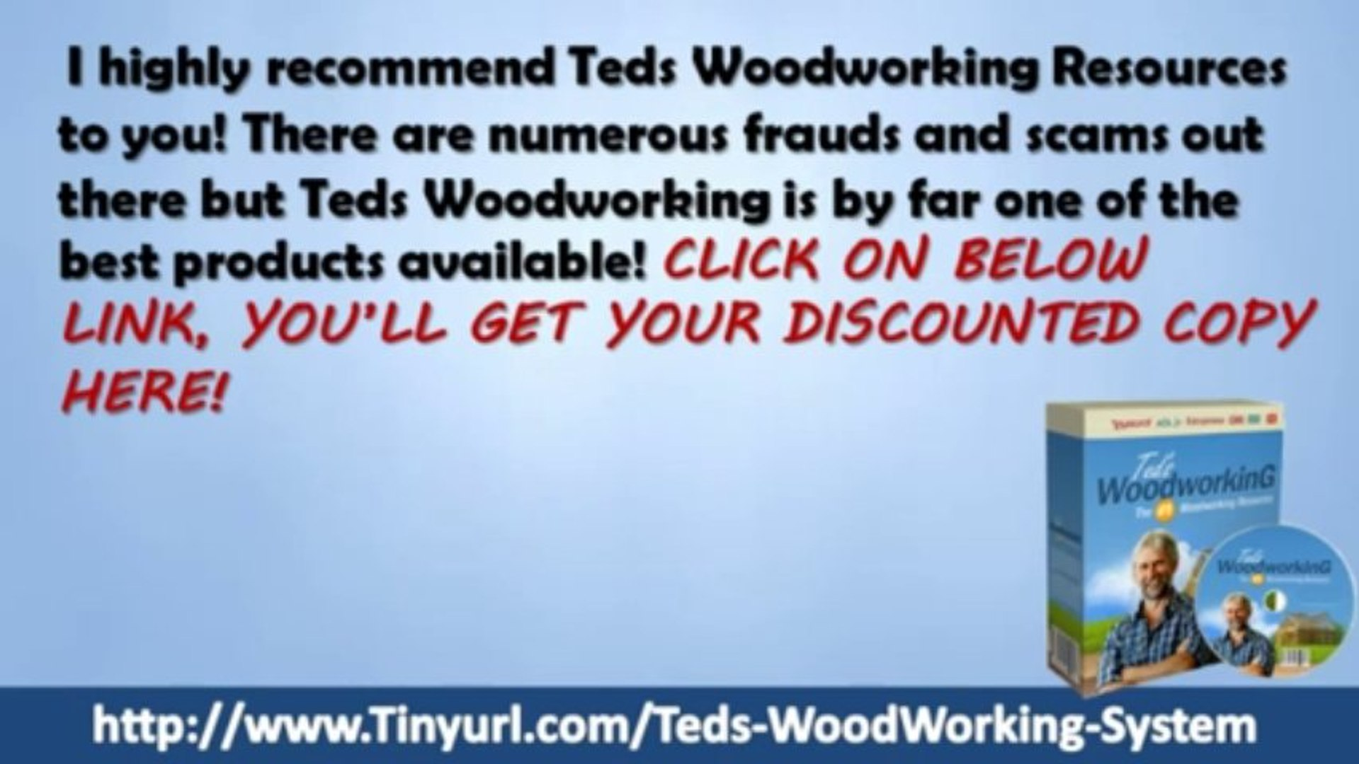 Teds WoodWorking Members Area | Teds WoodWorking Members