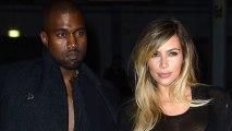 Kim Kardashian and Kanye West inParis
