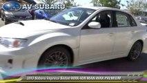 2013 Subaru Impreza WRX 4DR MAN WRX PREMIUM - AV Subaru, West Lancaster