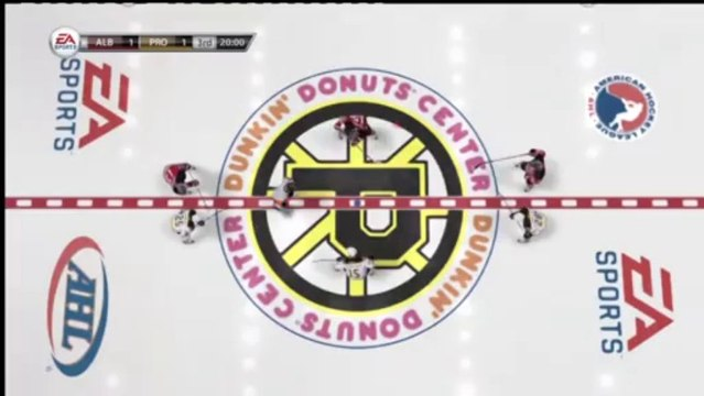 PS3 - NHL 13 - Be A GM - AHL Game 8 - Albany Devils vs Providence Bruins