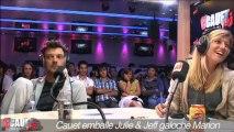 Cauet emballe Julie & Jeff galoche Marion - C'Cauet sur NRJ