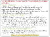 SAP BPC online training uae |SAP BPC Training | SAP BPC Online|MAGNIFIC TRAINING