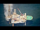 Fire breaks out on Gulf of Mexico rig after well blowout