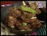 Home Cooking by Chef Maeda Rahat, Red Curry, Karahi Masala, Mutton Karahi & Dahi, 30-09-13