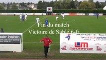 Coupe de France Sablé - La Flêche, les actions, les buts