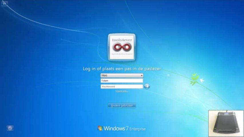 E-SSOM: Single Sign On – Registreren van een smartcard/gebruikerspas