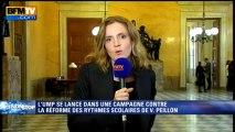 """NKM sur la réforme Peillon: """"On a des remontées de terrain inquiétantes"""" - 01/10"""