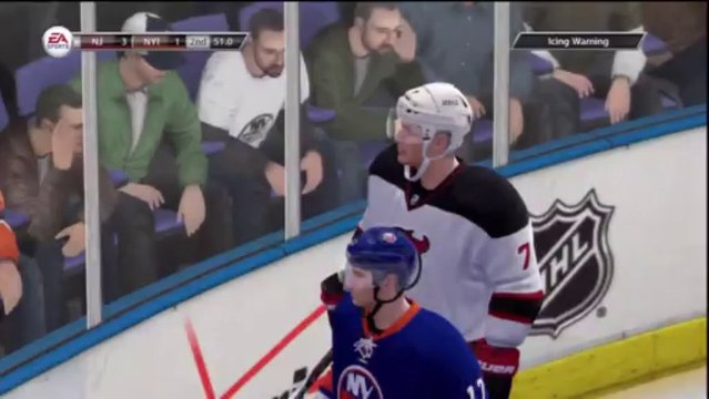 PS3 - NHL 13 - Be A GM - NHL Game 15 - New Jersey Devils vs New York Islanders