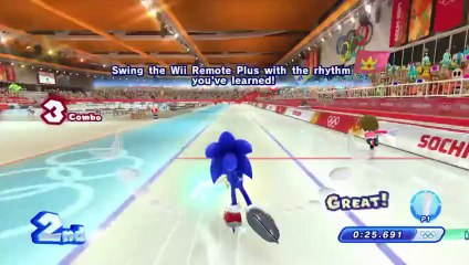 Mario & Sonic at the Sochi 2014 Olympic Winter de Prince of Persia Classic