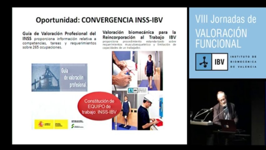 Campos de aplicación de las técnicas y metodologías de valoración biomecánica: J. Fermín Sánchez