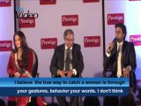 Never whistled at Aishwarya while wooing her Abhishek