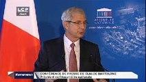 Évènements : Conférence de presse de rentrée de Claude Bartolone