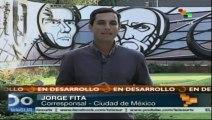 Conmemoran en México 45 años de la masacre de Tlatelolco a estudiantes