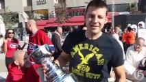 Hockey fans kick off Montreal's NHL season