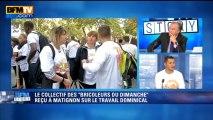 """Gérald Fillon, porte-parole du collectif """"Les bricoleurs du dimanche"""" était l'invité d'Olivier Truchot sur la question du travail dominical."""