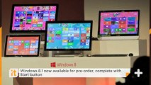 Windows 8.1 Now Available For Pre-order, Complete With Start Button