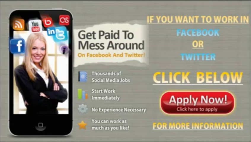 The Best Social Media Jobs-Paid Social Media Jobs – Paid in Facebook And Twitter Jobs for you