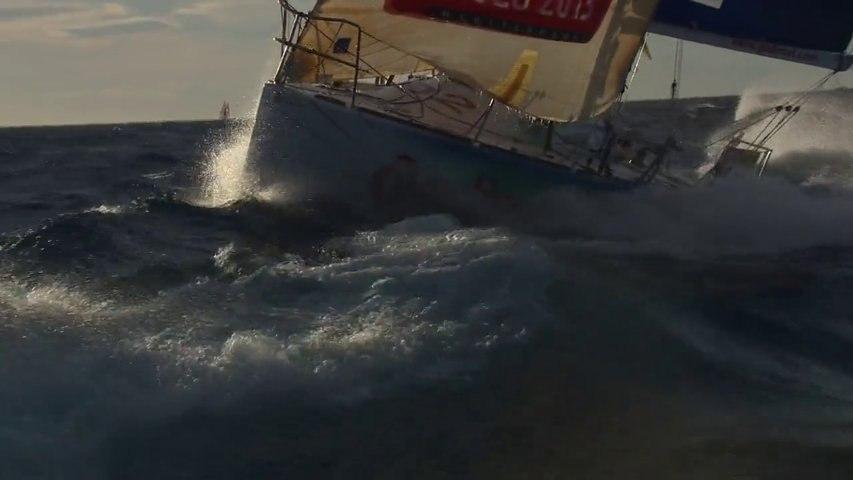 Résumé de la 2e étape entre Barcelone et Beaulieu sur Mer