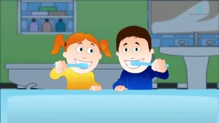Brush My Teeth - Animated Nursery Rhyme For Kids