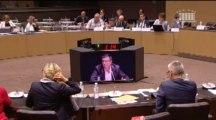 1er octobre 2013, Bertrand Pancher intervient à la table ronde sur la gestion des matières et déchets radioactifs en commission de développement durable