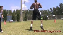 Dre Baldwin: Kettlebell Jump Squat + Hop Vertical Drill | NBA Athleticism Jump Manual Workout