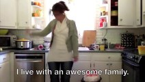 Mom 'Quits' Her Stay-At-Home-Mother Job With Dance To Kanye A La Marina Shifrin!!