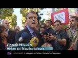ESPE : manifestation des professeurs et d'élèves (Toulouse)