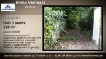 Te huur - Huis / Woning - Leuven (3000) - 3 kamers - 128m²