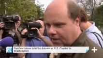 Gunfire Forces Brief Lockdown At U.S. Capitol In Washington
