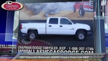 2007 Chevrolet Silverado 2500HD Classic Crew Cab 4WD - Chapman Las Vegas Dodge Chrysler Jeep Ram, Las Vegas