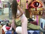 Bigg Boss 7 Kushal Sleeps Hugging Gauhars Jacket 4th Oct 2013 Episode