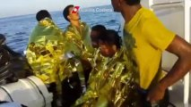 Migrants rescued from sea off Italian coast