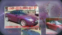 MG B, MG F, MG TF covering blanc mat, gris mat, bleu mat, rouge mat,orange mat, noir mat, jaune mat, vert mat, peinture