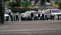 Police officers surrounding Capitol car suspect and shooting!!