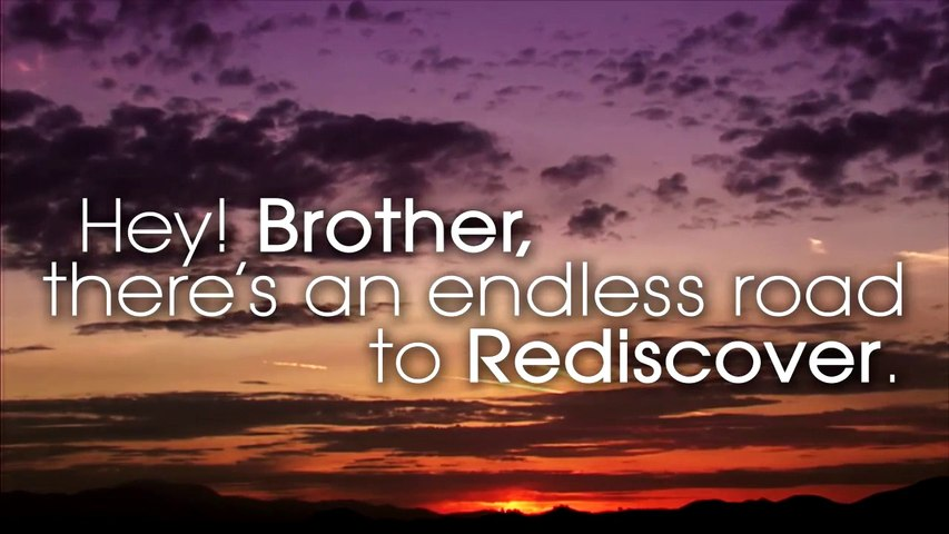 Avicii - Hey Brother (Lyrics Video)