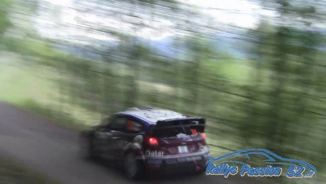 Thierry Neuville Rallye de France 2013 ES7 Big Attack !