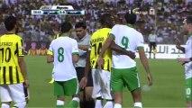 برونو سيزار يرفض التبديل مع معتز الموسى والخروج من الملعب - الاهلي 0-0 الاتحاد HD