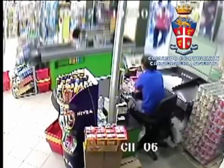 Succivo (CE) - Tre minori arrestati per una rapina ad un supermercato (04.10.13)