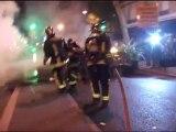 Paris (france) 06/05/2007  Emeutes soir de l'élection de Sarkozy (rue de Lyon)