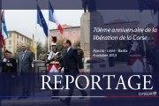 70e anniversaire de la libération de la Corse