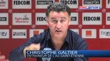 Ligue 1 / Les réactions de E. Abidal et C. Galtier après Monaco - Saint-Etienne - 05/10