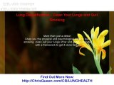 Lung Detoxification - Clean Your Lungs And Quit Smoking