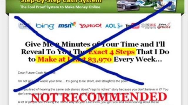 stepbystepcashsystem.com Facts - Step By Step Cash System - Scam